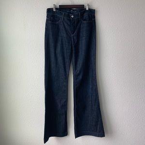 7FAM | Ginger Flare Jeans Dark Wash